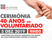 CERIMÓNIA 40 ANOS VOLUNTARIADO NO NORTE